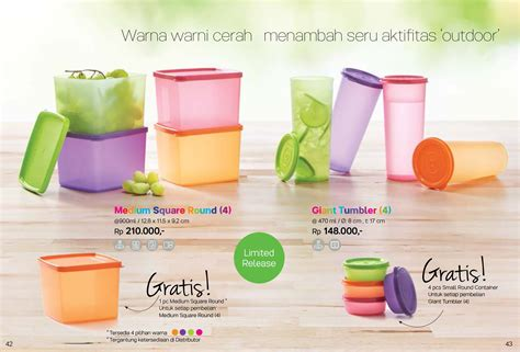 Summer Crispy Tupperware tupperware medium summer fresh isi 4 update daftar harga