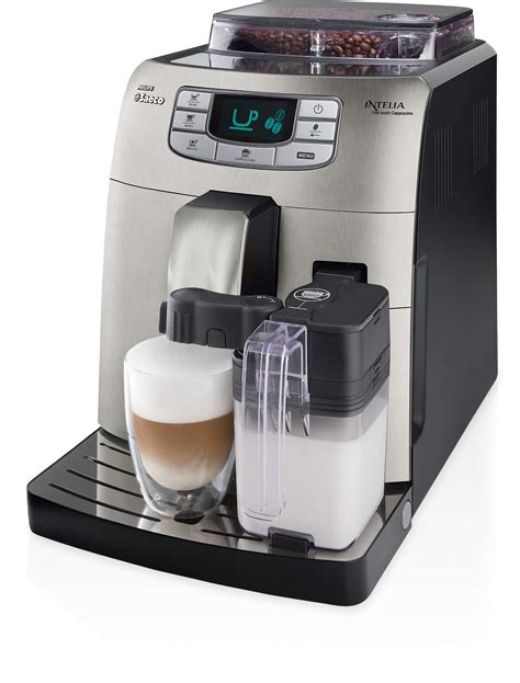 Coffee Maker Philips Hd7448 intelia automatic espresso machine hd8753 83 saeco