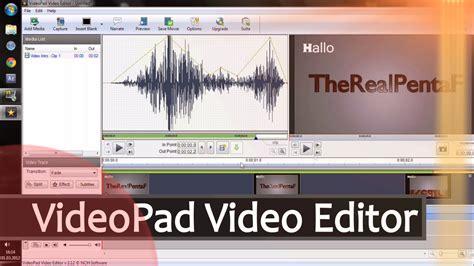 videopad video editor tutorial part 2 teil 2 videopad video editor kostenloses schnitt und