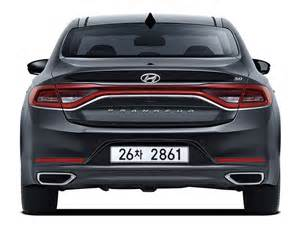 Smart Lights Hyundai S All New 2017 Azera Grandeur Launches In Korea