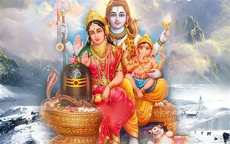 Hindu Lord Shiv Parvati Wallpapers   New HD Wallpapers