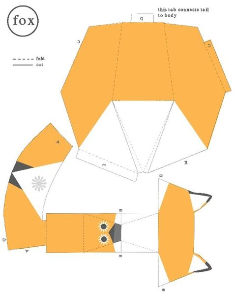 Papercraft Fox - 3527 best images about printables on