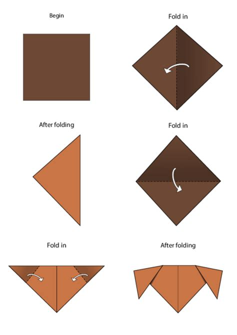 Easy Printable Origami - easy origami kidspressmagazine
