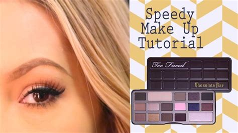eyeshadow tutorial chocolate bar 1000 images about too faced palette looks on pinterest