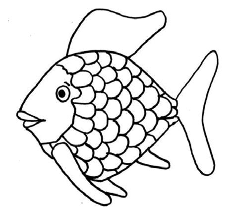 fish coloring page with scales rainbow fish printables coloring page purse hanger com