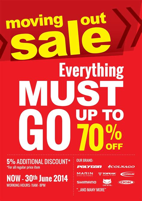 Moving Sale At Makeupcom by Rodalink Store Thomson Moving Out Sale Great