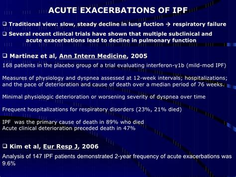 interferon gamma for idiopathic pulmonary fibrosis the idiopathic pulmonary fibrosis ppt