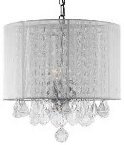 chandelier with white shade chandelier with white shade transitional