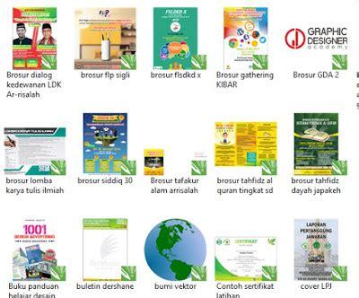 desain brosur format cdr 100 contoh desain brosur keren format cdr ucorel