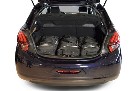 peugeot 208 trunk 208 peugeot 208 2012 present car bags travel bags