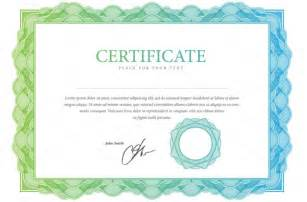 free editable certificate templates 10 blank certificate template psd word eps and indesign