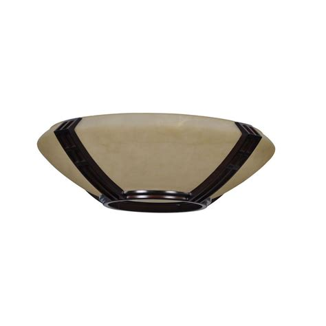 ceiling fan replacement glass miramar 60 in weathered bronze ceiling fan replacement
