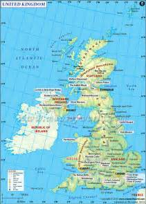 England On A Map by Uk Map United Kingdom England Wales Scotland