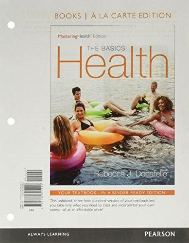 Pdf Health Masteringhealth J Donatelle by Books By Author Donatelle Direct Textbook