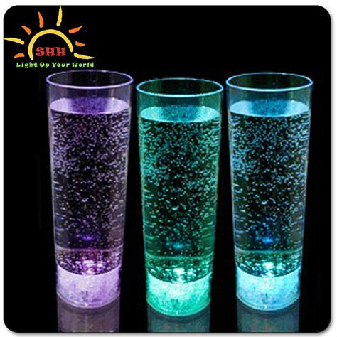 light up drinking glasses party city flashing light up led highball drinking mug drinking glass