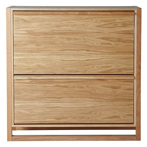 lewis shoe storage buy lewis low shoe storage cabinet oak lewis