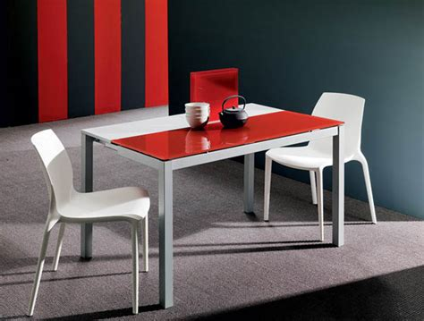 dining table white dining table colored chairs