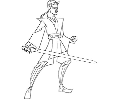 how to draw anakin