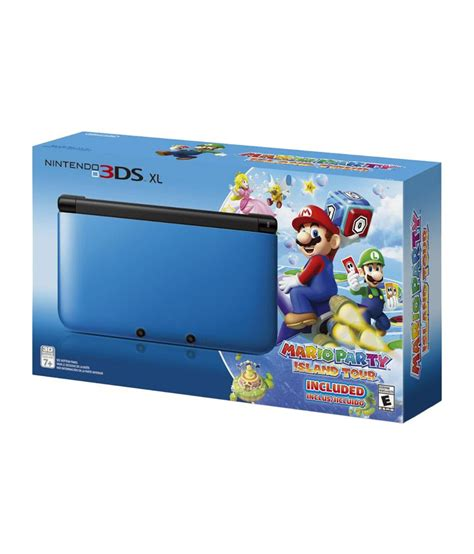 nintendo 3ds console best price buy nintendo 3ds xl console blue with mario