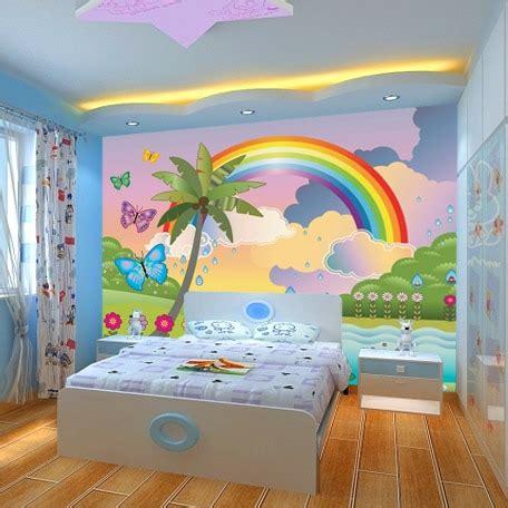 rainbow wallpaper for room popular rainbow wall mural buy cheap rainbow wall mural lots from china rainbow wall mural
