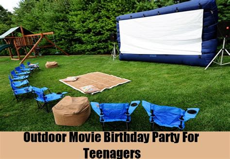 backyard party ideas for teenagers interesting teenage birthday party ideas how to