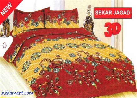 Bedcover Set Disperse Motif Bonita bed cover katun jepang murah toko sprei grosir