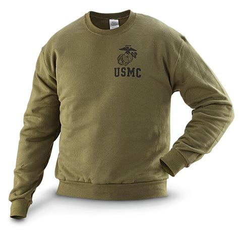 Sweater Hoodie Jumperzipper Marine usmc pt sweatshirt sweater jacket