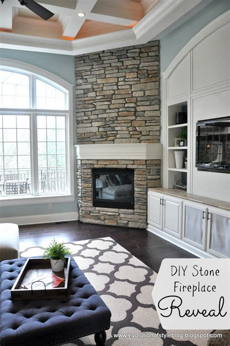 diy fireplace reveal for real evolution of