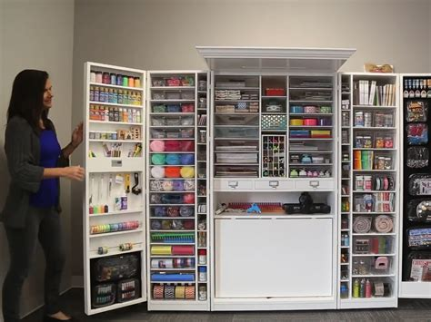 craft storage cabinets with cute cool closet door ideas compilation dream home
