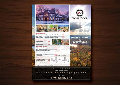 design flyer cost serious professional real estate flyer design for front