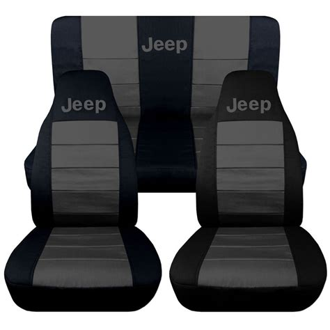 jeep wrangler car seat jeep wrangler tj front back car seat covers black charcoal