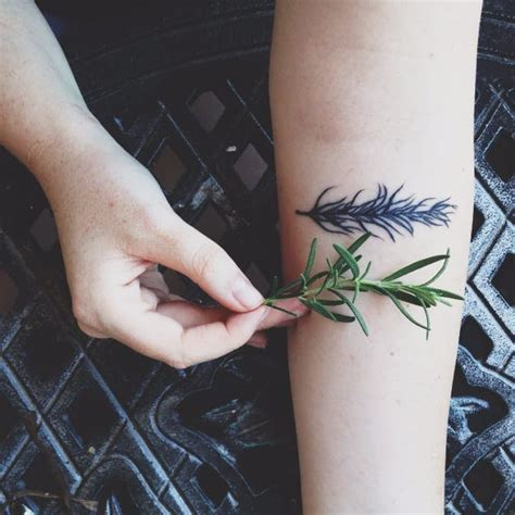 11 refined rosemary tattoos tattoodo