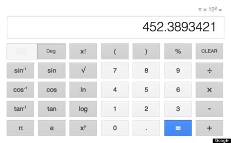 calculator google google calculator now gives you a big keyboard plus voice