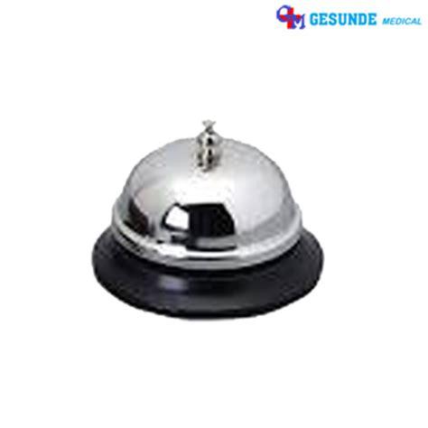 Table Bell Desk Bell Stainless Steel Bel Meja Hotel Resto Cafe harga peralatan hotel jual perlengkapan hotel toko