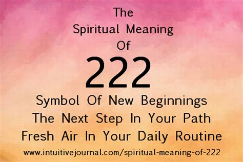 these meaning spiritual meaning of 222