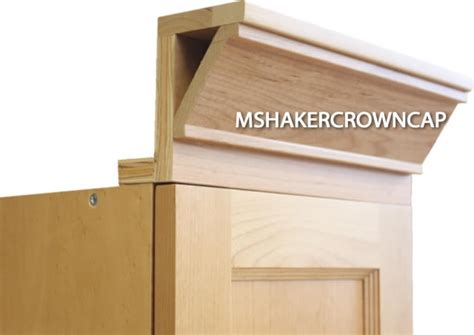 shaker cabinet crown molding 3 shaker crown molding with backer and cap