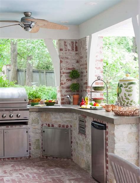 ideas for outdoor kitchen 17 functional and practical outdoor kitchen design ideas