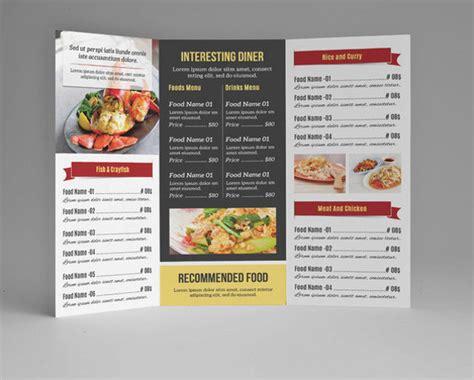 exles of restaurant menus layout restaurant menu template 33 free psd eps documents