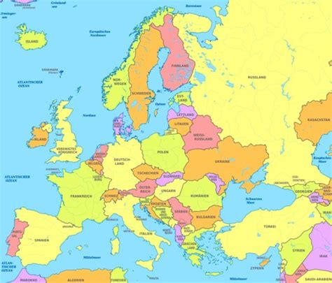 europe map all countries european countries quotes quotesgram