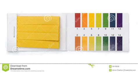 litmus paper colors litmus test royalty free stock photo image 29143535