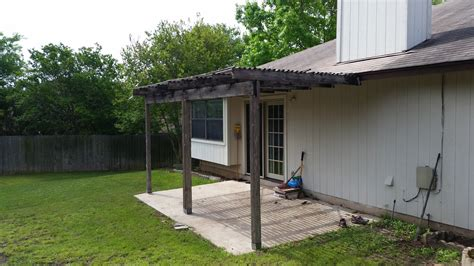 Wooden cover   Carport Patio Covers Awnings San Antonio