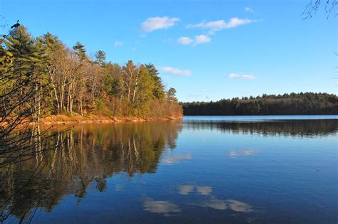 walden lake book henry david thoreau leaves walden pond this day 1847
