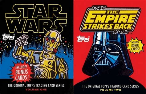 Star Wars Movie Gift Card - all the star wars topps cards from the first two movies have been collected in these