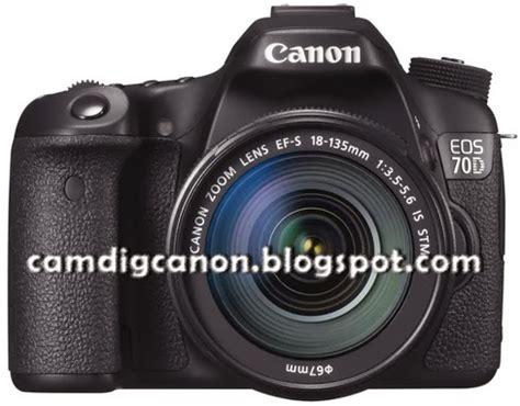 Kamera Canon 60d Dan 70d harga dan spesifikasi lengkap kamera dslr canon eos 70d