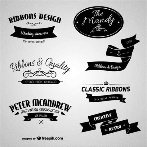 imagenes vintage marcas etiquetas retro de marcas descargar vectores gratis
