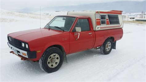 1983 Dodge D 50 Turbo Diesel 4x4 Truck 4d55t 4 Cyl