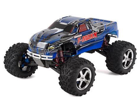 traxxas nitro monster truck traxxas t maxx 3 3 4wd rtr nitro monster truck blue