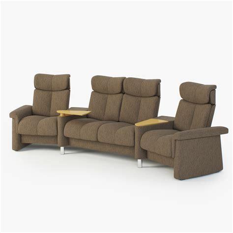 stressless legend sofa 3d model of sofas stressless legend sc