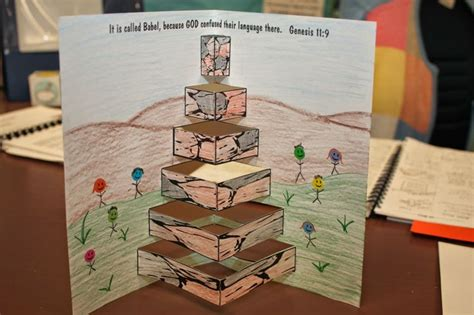 bible craft projects 25 best ideas about tower of babel on bible
