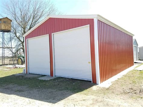 Metal Carports Michigan by Check Out The Metal Garage Installed In Fremont Michigan